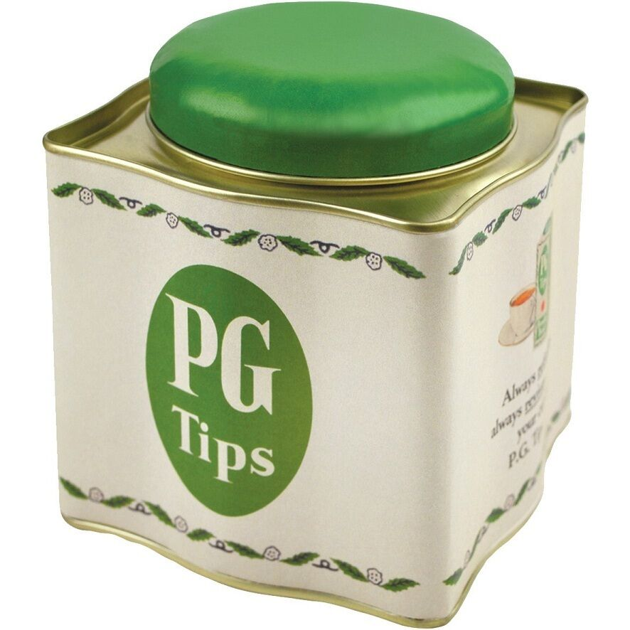 Kitchen Canister - PG Tips Tea Caddy, Retro style Tea Storage Caddy ...