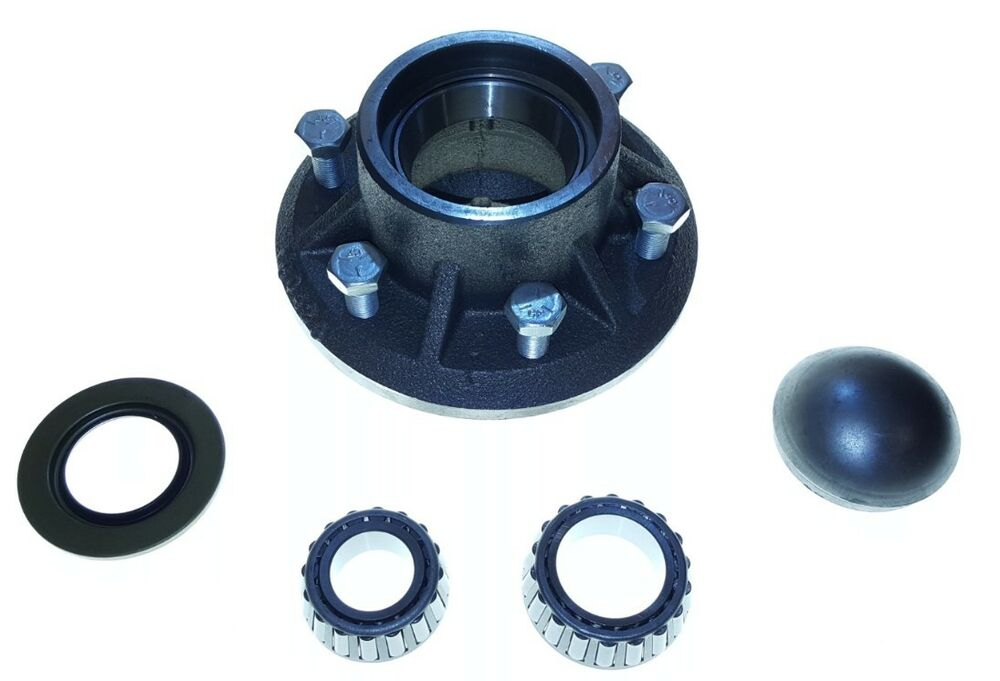 Farm Implement Hub Bearings : Agricultural wheel hub usa made w complete with