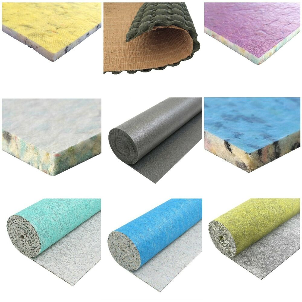8mm 10mm 12mm Thick Quality Carpet Underlay Rolls