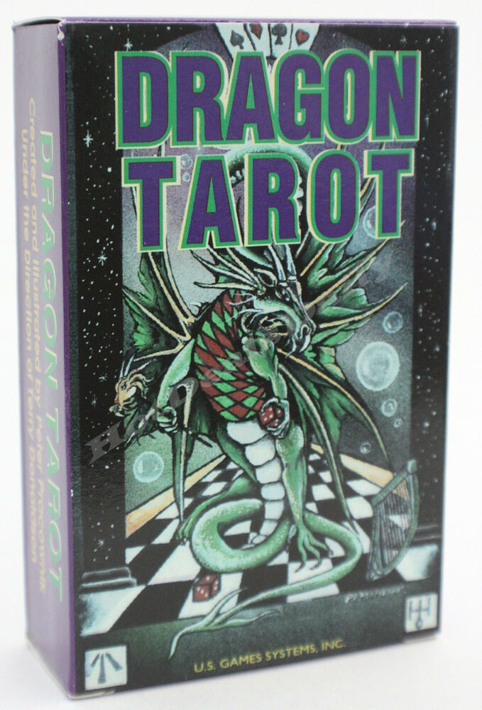 DRAGON TAROT CARD DECK DRAGONS 78 CARDS HISTORICAL