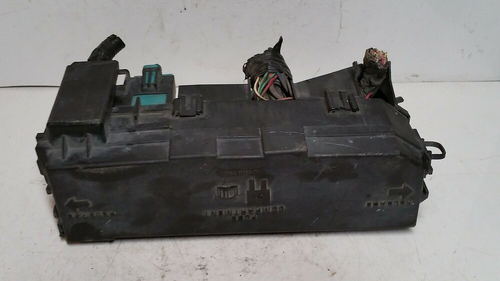 details about 2000 mazda b-series 3 0l fuse box block relay panel used oem  #481