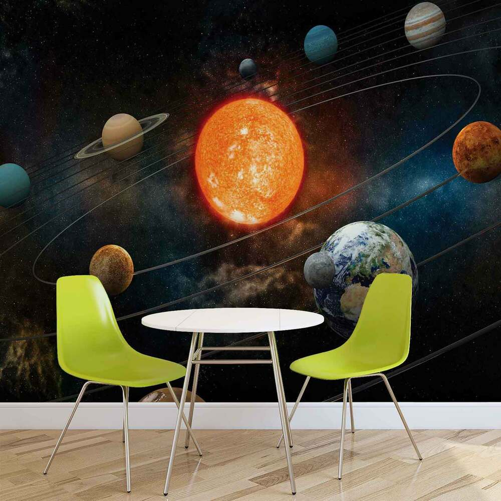 fototapete wandbild fototapeten bild tapete planeten jungen teens w1048 ebay. Black Bedroom Furniture Sets. Home Design Ideas