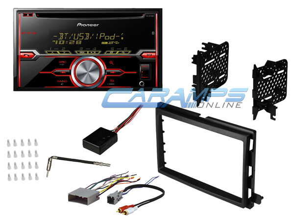 pioneer double din car stereo w install dash kit wiring. Black Bedroom Furniture Sets. Home Design Ideas