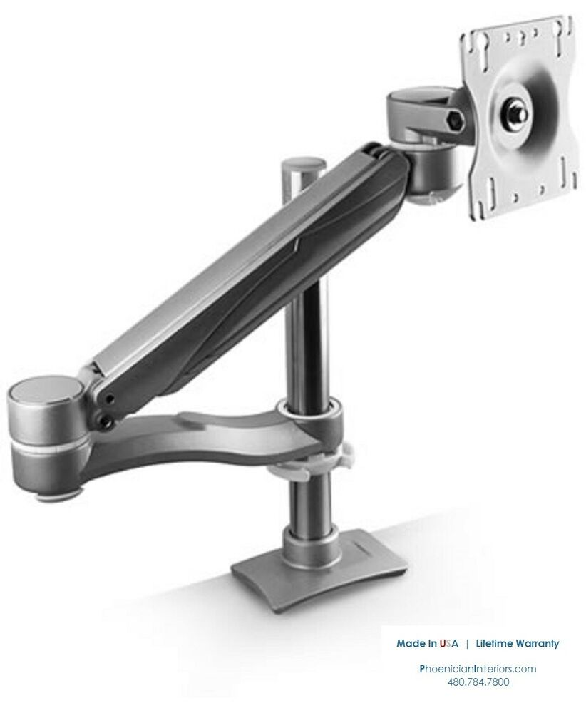 Single Screen Computer Monitor Arm Stand Mount Made In Usa