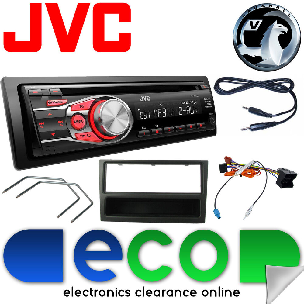 vauxhall corsa c 2004 2006 jvc car stereo radio upgrade. Black Bedroom Furniture Sets. Home Design Ideas