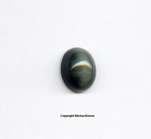 Silver grey cats eye moonstone cabochon 14x10 mm 100 for Cat s eye moonstone jewelry