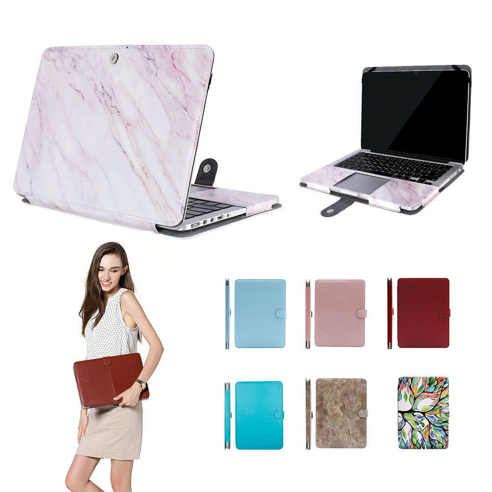 Mosiso PU Leather Book Cover Case for MacBook Pro Air 11,13,15 Retina Mac 12 | eBay