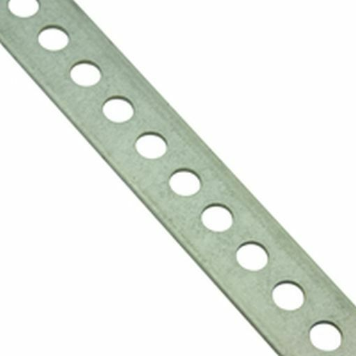 Perforated Metal Strip 305 X 8 75mm 0 5mm Thickness Ebay