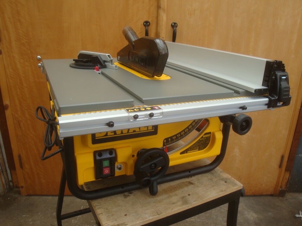 Brand New Dewalt 240v 240volt Dw745 250mm 10 Portable Table Saw Ebay