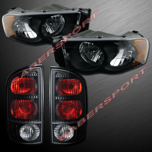 set-of-black-headlights-taillights-for-0205-ram-1500-and-0305-ram-25003500