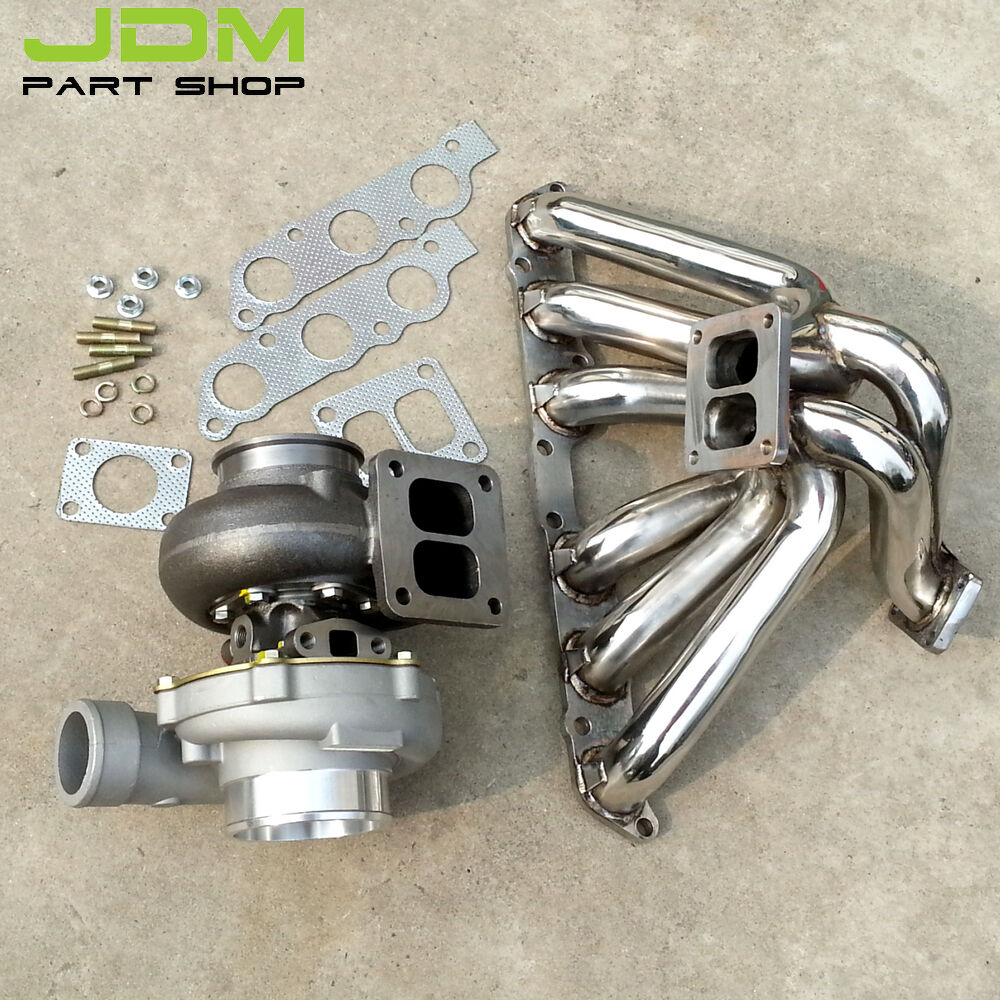 Exhaust Manifold Turbo Gt45 Ar0 84 Water For Lexus Is300