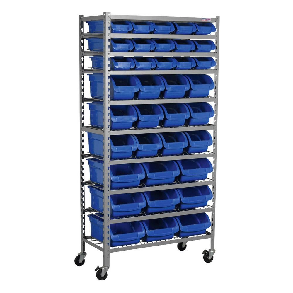 Sealey Mobile Garage Workshop Tools Bin Storage Storing