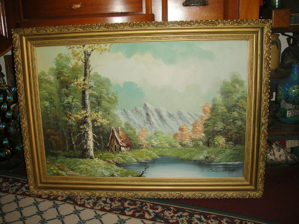 French Oil Paintings Ebay Antique 19th Century Original