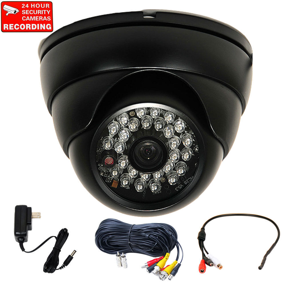 With Sony Ccd Audio Microphone Outdoor Security Camera Day