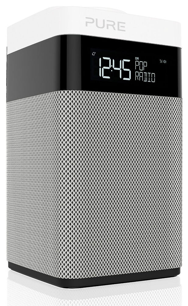 pure pop midi dab fm digital radio alarm clock ebay. Black Bedroom Furniture Sets. Home Design Ideas