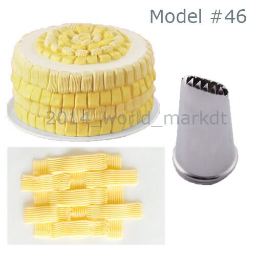Cake Decorating Nozzle Guide : New Fashion Cake Baking Mold Icing Piping Nozzle Pastry ...