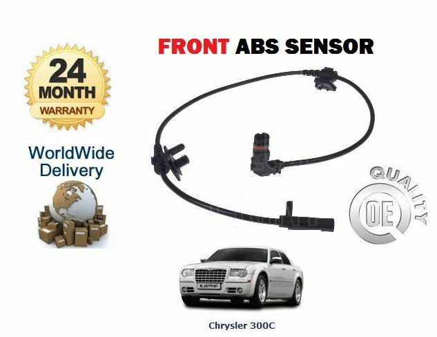 for chrysler 300c touring 2005 new front abs brake sensor ebay. Black Bedroom Furniture Sets. Home Design Ideas