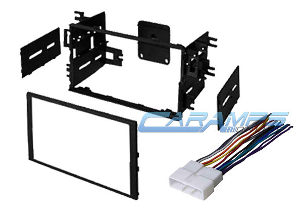 Car Stereo Wiring Harness Kit : Double din car stereo radio dash installation bezel kit