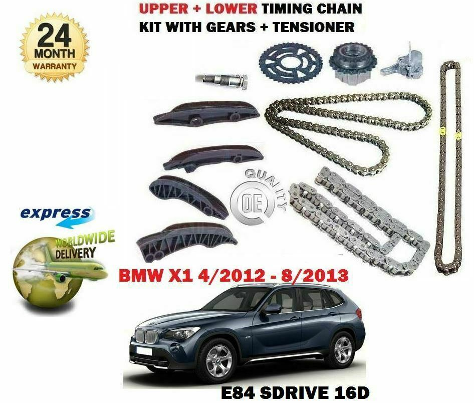 FOR BMW X1 SDRIVE 16D 116BHP 2012-2013 TIMING CHAIN KIT