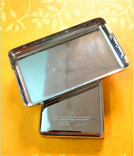 Ipad Classic Book Cover ~ New tb customizing metal back case housing cover thick