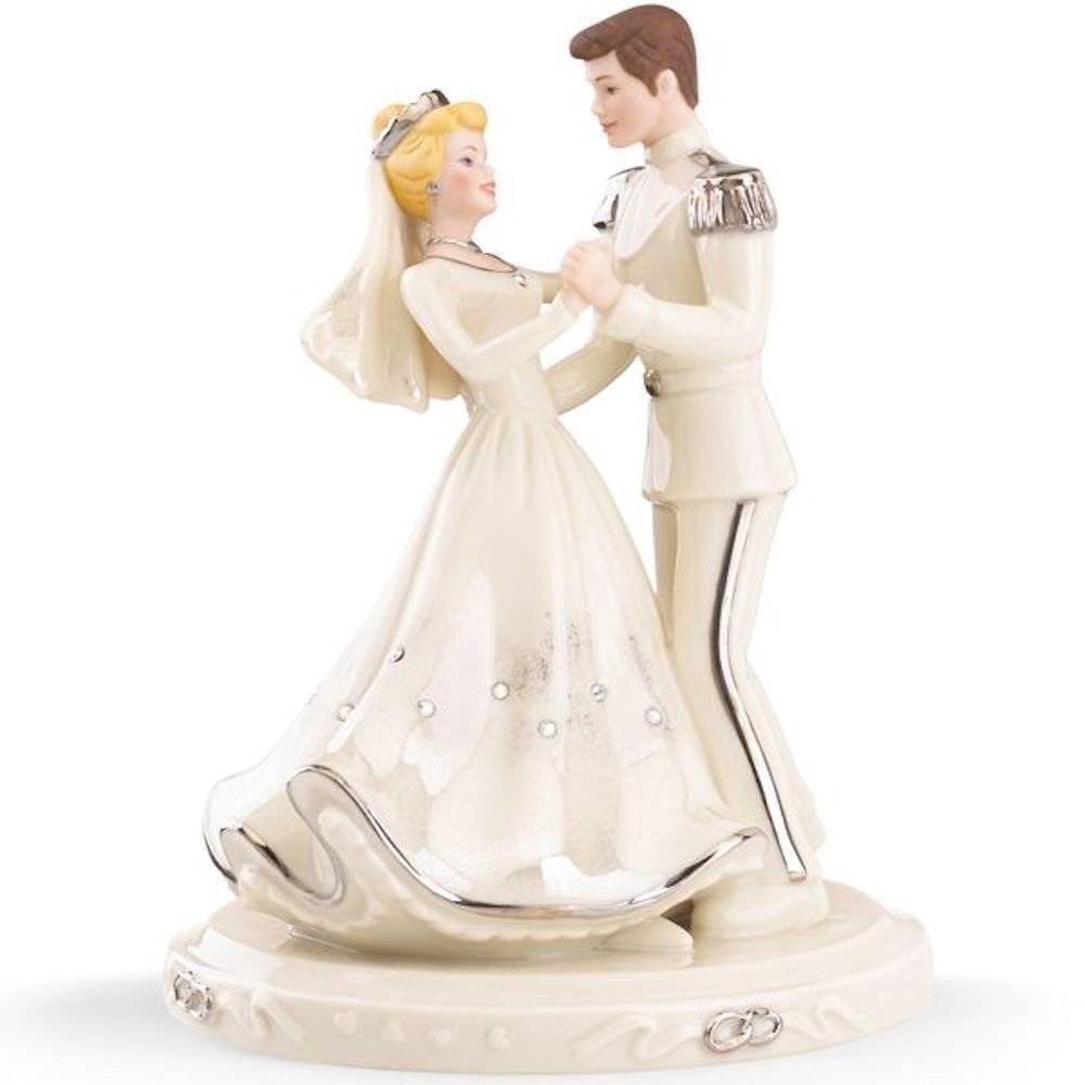 disney cinderella wedding cake toppers lenox disney cinderella prince wedding cake topper 13549