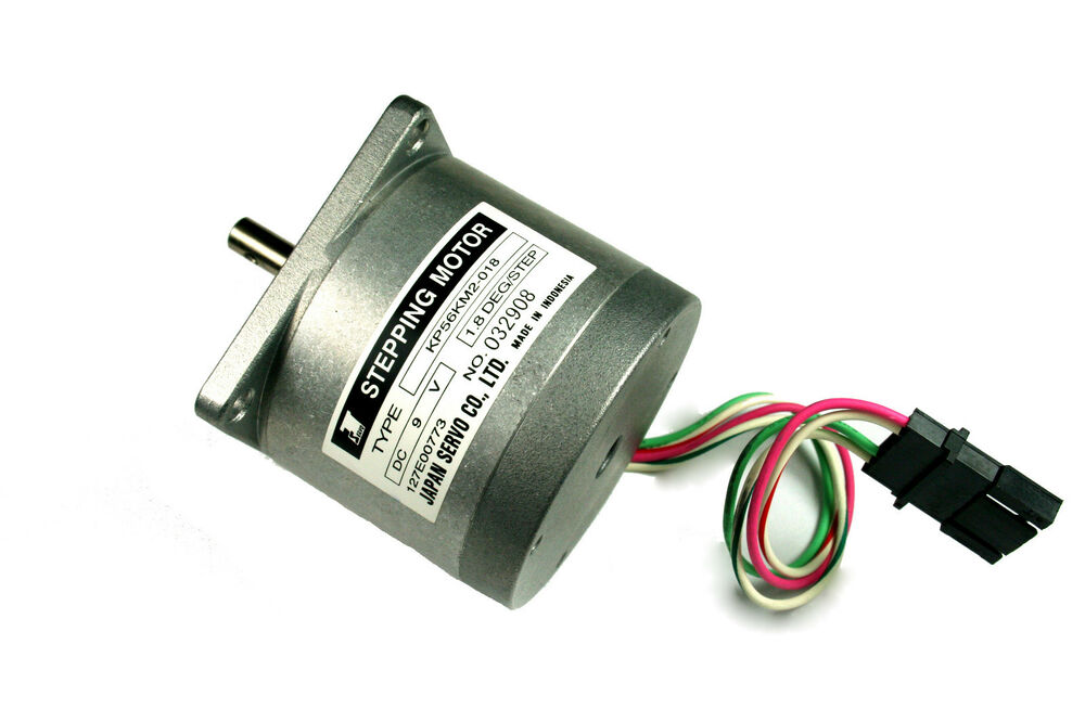 japan servo stepper motor 9 v 200 steps rev 6 mm