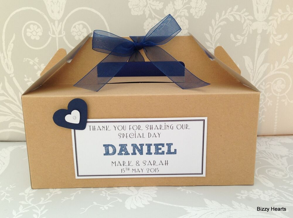 Kids Wedding Gifts: Personalised Childrens Wedding Favour Activity Box BROWN
