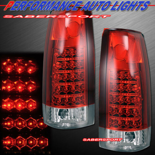 set-of-red-clear-led-taillights-for-8899-gm-ck-1500-2500-3500-yukon-suburban