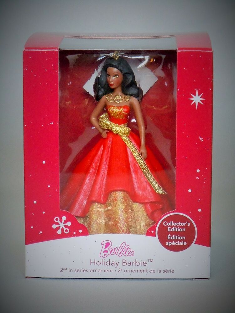 2014 HOLIDAY BARBIE AFRICAN AMER. (AA) 2014 American ...