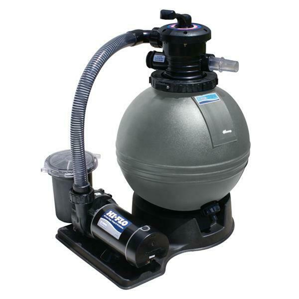 waterway clearwater 19in sand filter above ground pool system pool pump ebay. Black Bedroom Furniture Sets. Home Design Ideas