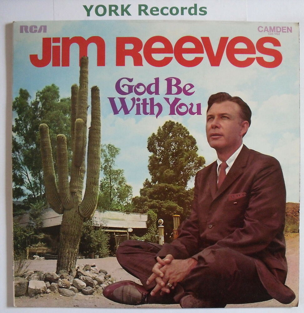 JIM REEVES - God Be With You - Excellent Condition LP Record RCA ...