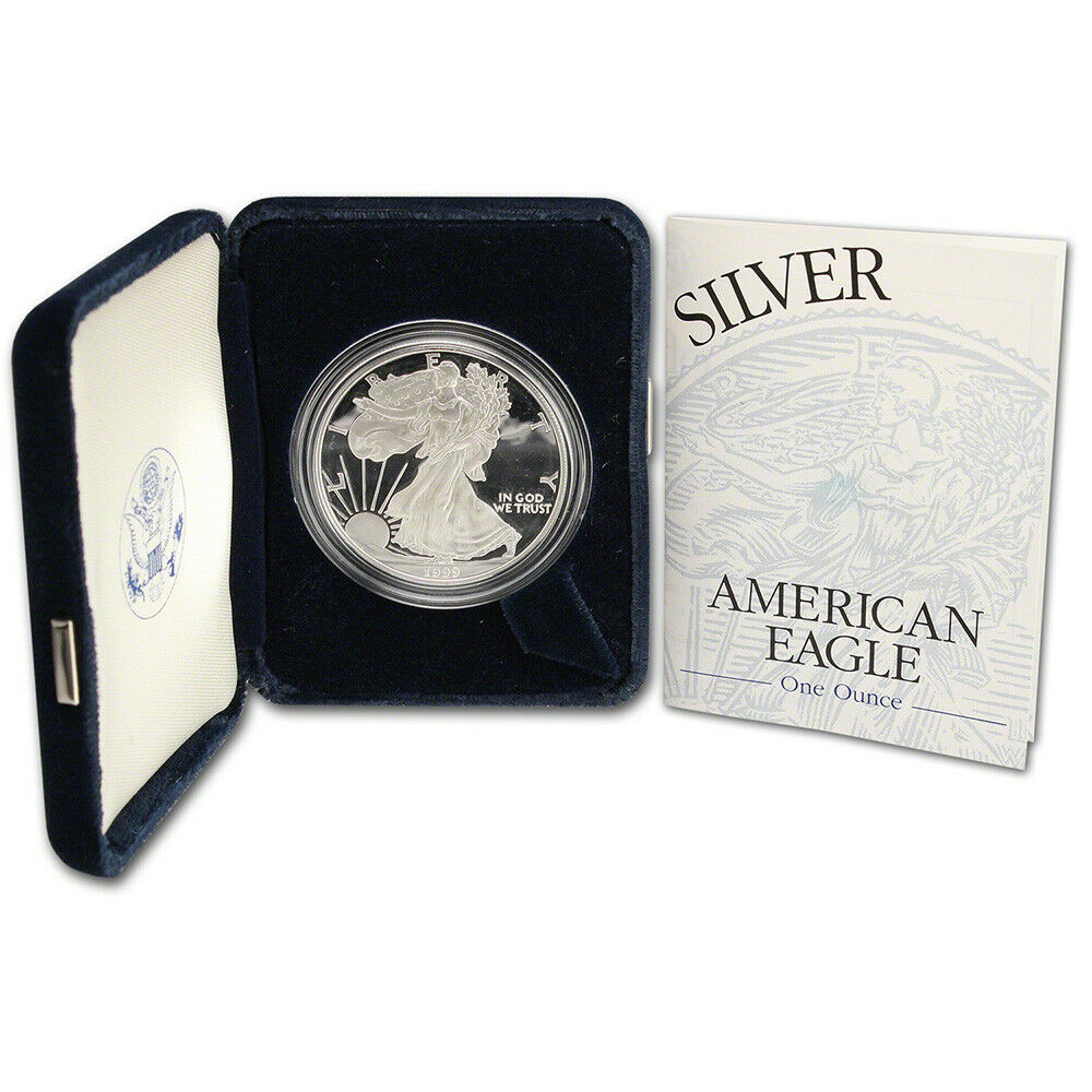 1999 P American Silver Eagle Proof Ebay