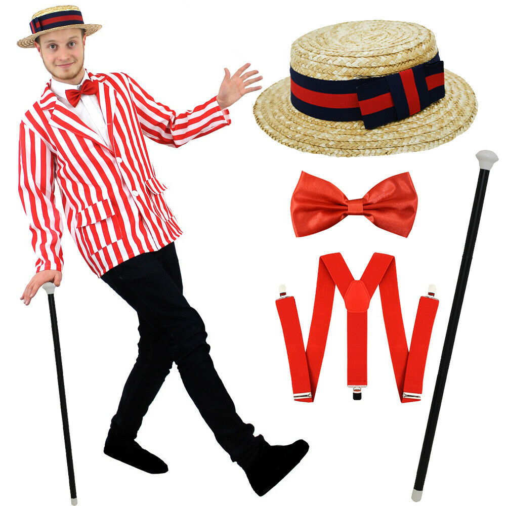Barbershop Quartet Costume : MENS EDWARDIAN COSTUME OLD ENGLAND FANCY DRESS BARBERSHOP QUARTET BOOK ...