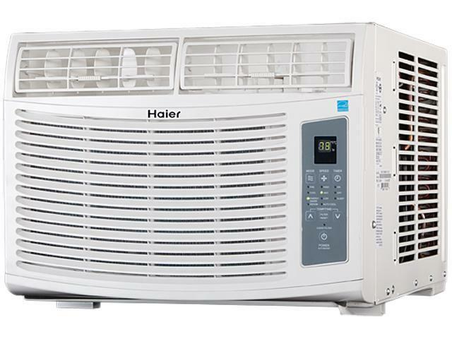 Haier esa412m 12 000 cooling capacity btu window air for 12000 btu ac heater window unit