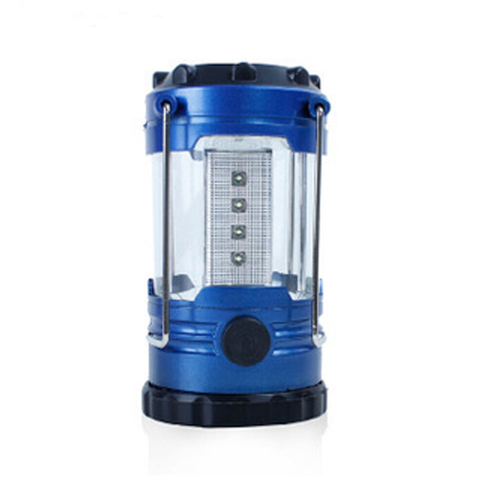 12 led camping lantern bivouac hiking camping tent light lamp with compass ebay. Black Bedroom Furniture Sets. Home Design Ideas