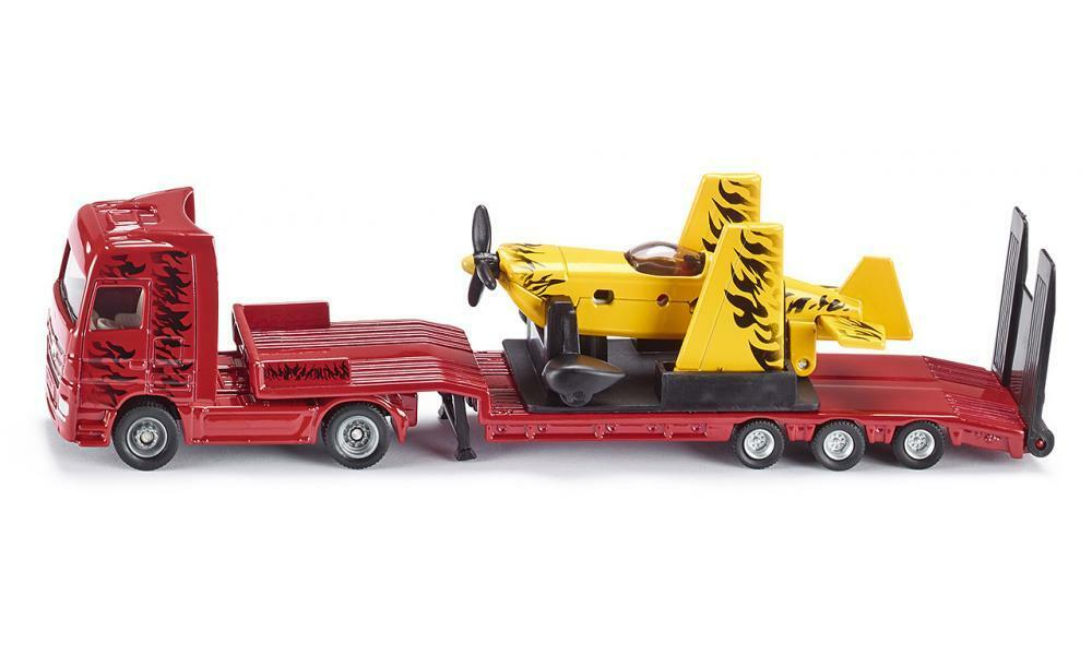 siku truck with sporting sports airplane 1 87 scale die. Black Bedroom Furniture Sets. Home Design Ideas