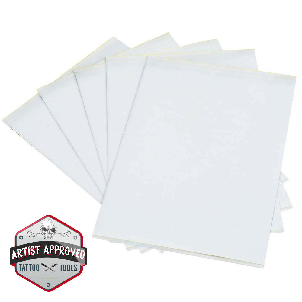 Tattoo transfer stencil carbon thermal tracing paper ebay for Tattoo transfer paper