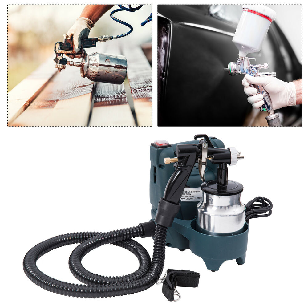 600w electric paint sprayer airless painting gun tool kit. Black Bedroom Furniture Sets. Home Design Ideas