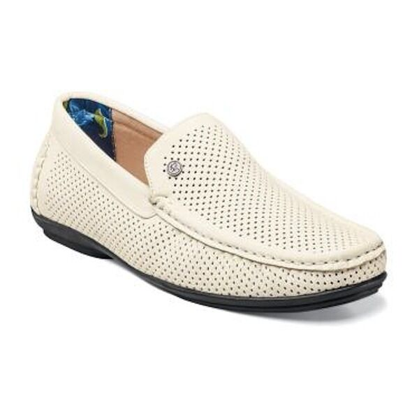 Stacy Adams Mens White Shoes