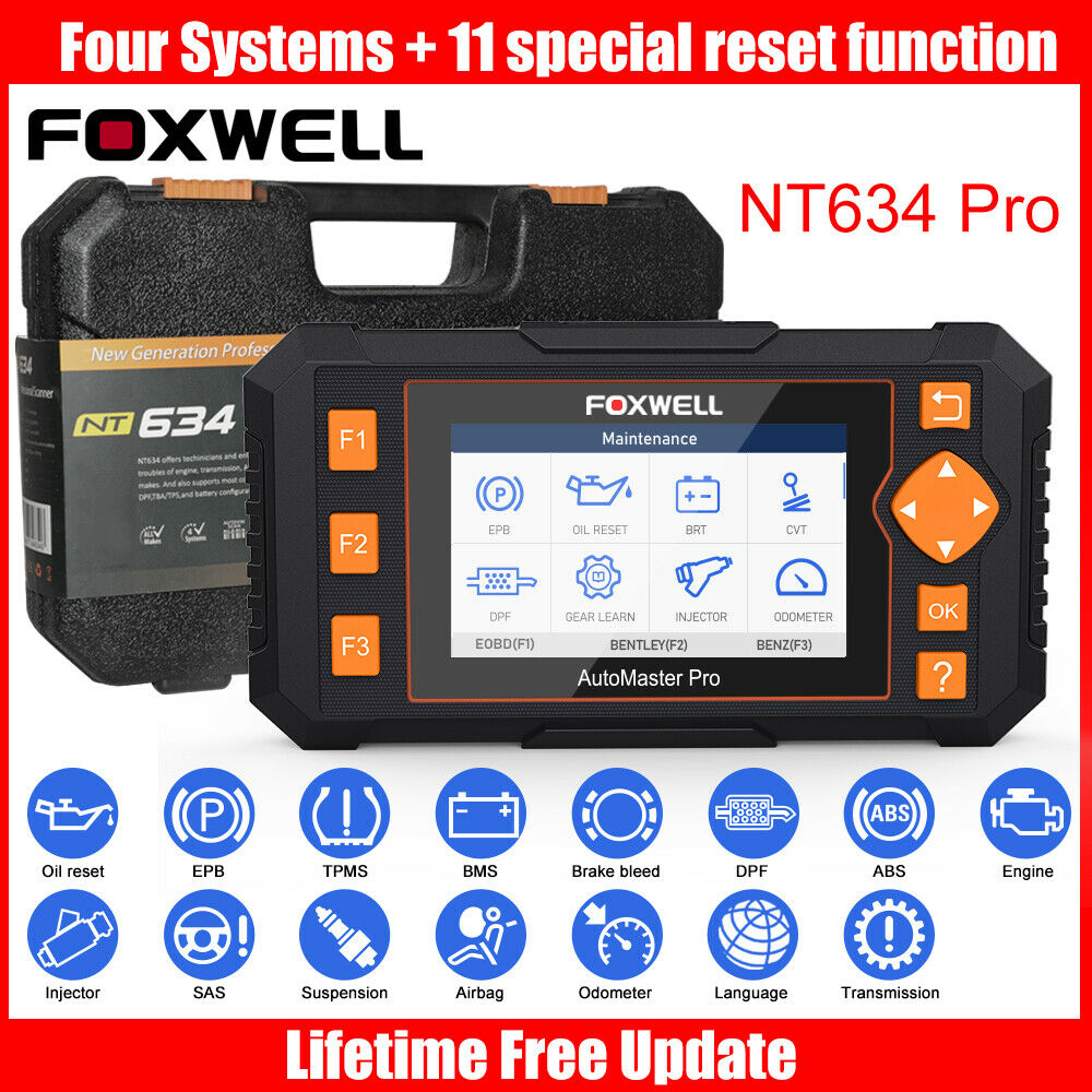 FOXWELL NT301 OBD2 Auto Code Reader Diagnostic Tool CAN