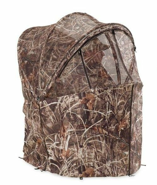 Ameristep Rapid Shooter Max 4 Hunting Chair Ground Blind