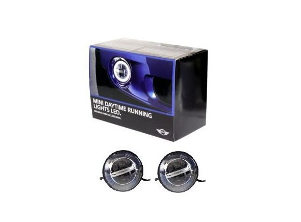 mini cooper led daytime running lights led light kit r56 2007 to 2012 ebay. Black Bedroom Furniture Sets. Home Design Ideas