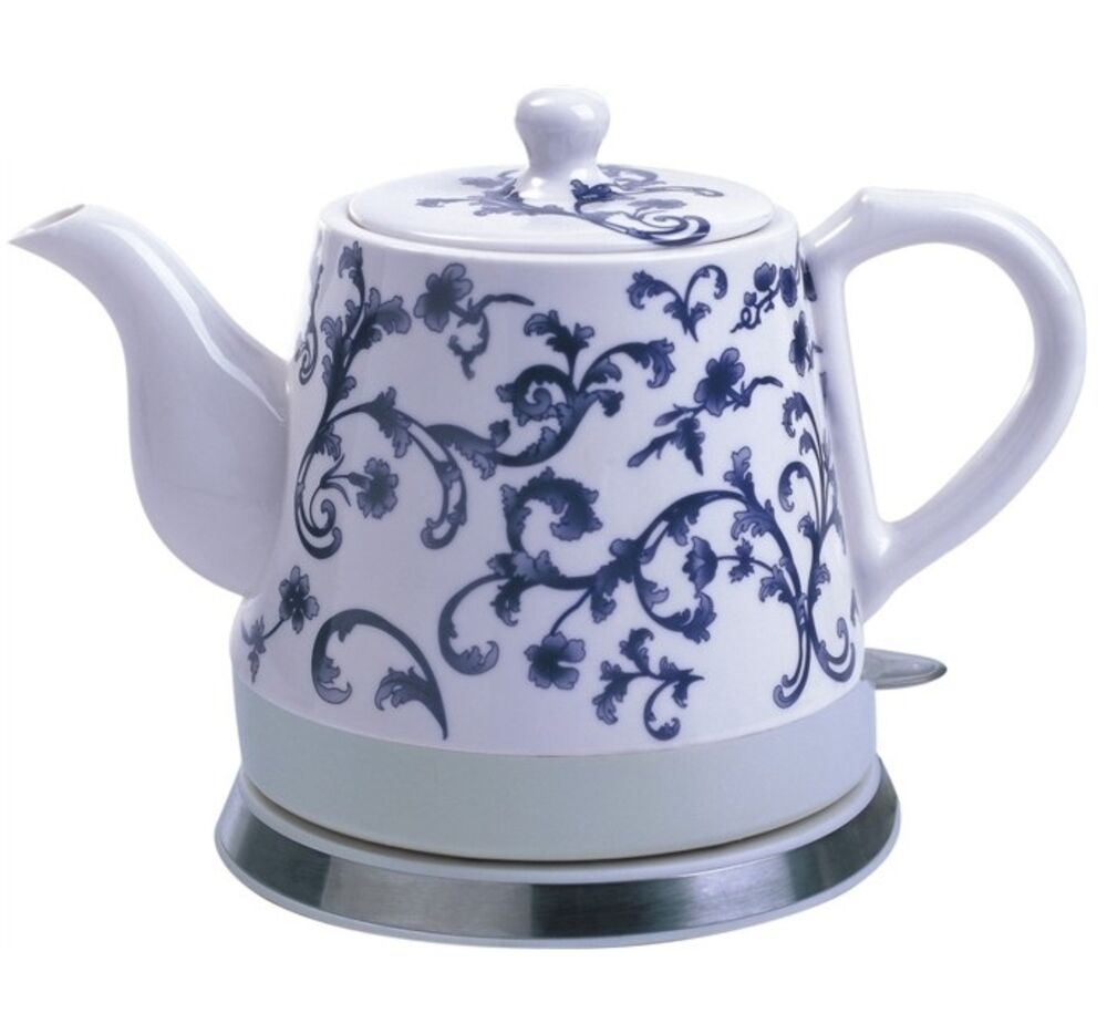 Ceramic Electric Kettle Porcelain Teapot Water Boiler