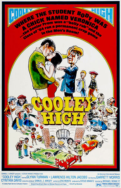 Cooley High - 1975 - Movie Poster | eBay