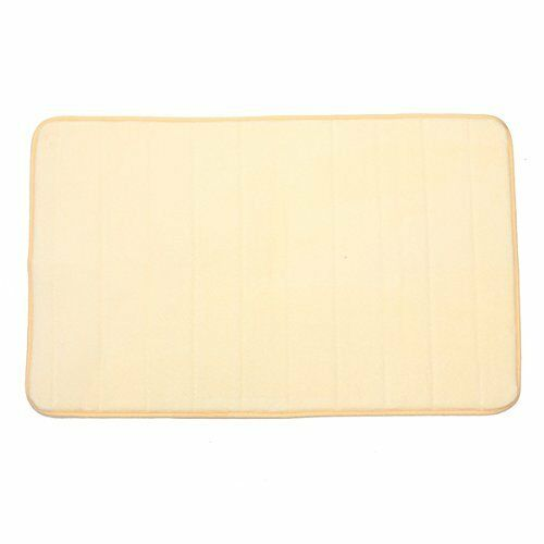 32 X20 39 39 Non Slip Back Rug Soft Bathroom Carpet Foam Light Yello