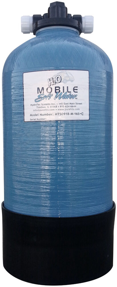 Mobile Soft Water 12 800 Gr Portable Manual Softener W
