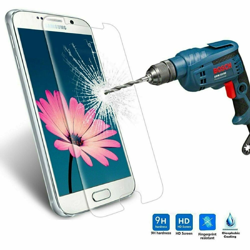 ... Tempered Glass Clear Screen Protector for Samsung Galaxy S6 | eBay