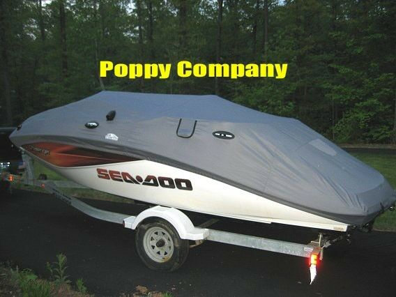 2007 2010 Challenger 180 180se Sea Doo Boat Cover New Trailerable Grey Mooring Ebay