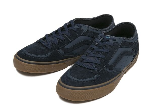Black Blue And Gum On Shoes