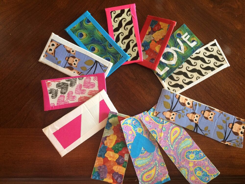 Duct tape bookmarks ebay for Duct tape bookmark ideas